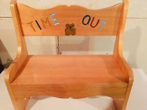 Time-out chair.