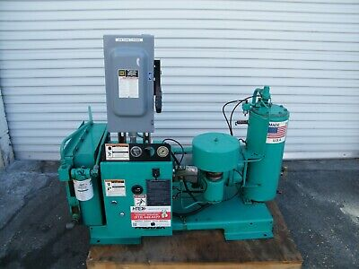 Palatek 15dh 15 Hp Rotary Screw Air Compressor Ingersoll Rand Kaeser Quincy