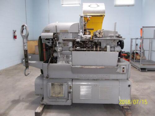 """Brown & Sharpe 2G Automatic Screw Machine 1-1/2"""" Capacity"""