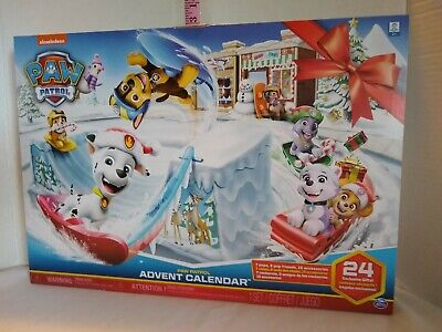 Paw Patrol 2019 Advent Calendar 24 Exclusive Gifts Nickelodeon Spin Master
