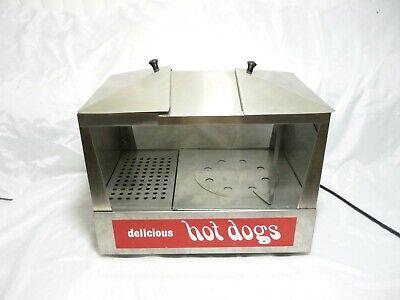 Star 35ss Classic Hot Dog Steamer Bun Warmer W Variable Temperature Control