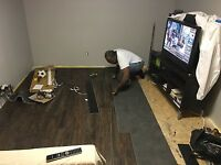 Baseboards, Trims, drywall patching, etc.