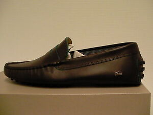 cac47ccac7af Lacoste casual shoes concours 10 spm leather dark brown size 11 us men