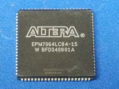 Qty 15 Altera Cpld Epm7064lc84-15 15ns Plcc New