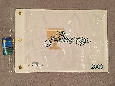 2009 PRESIDENTS CUP NEW OFFICIAL SEALED EMBROIDERED