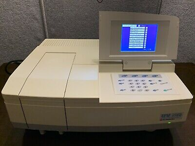 Shimadzu Uv-1700 Pharmaspec Uv-vis Spectrophotometer