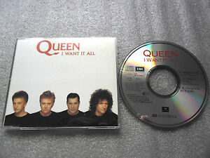CD-QUEEN-I-WANT-IT-ALL-HANG-ON-IN-THERE-D-BOWIE-CD-SINGLE-3-TRACK-CD-MAXI