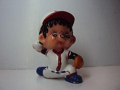 Monchhichi Sekiguchi Baseballspieler / Werfer Monchichi - gebraucht