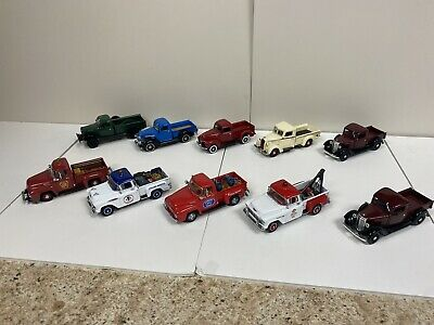 Matchbox Models of Yesteryear 1:43 O Scale Lot Of 10 Pickups Great Condition!