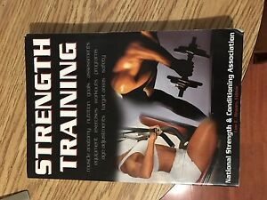 Strength training exercise book $5