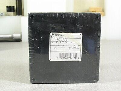 Hammond 1591usbk Black Abs Plastic Project Box 4.7 X 4.7 X 2.2