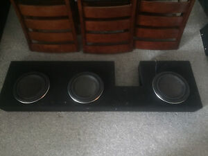 "11-16 super duty triple 10"" sub box"