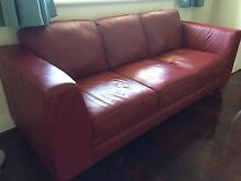 Sofa 3 seater leather East Fremantle Fremantle Area Preview