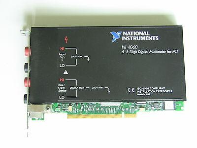National Instruments Pci-4060 Multimeter Card 5-12 Digits Ni Daq Dmm