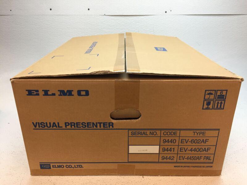 New Open Box  Elmo EV-4400AF Visual Presenter & Overhead Document Camera