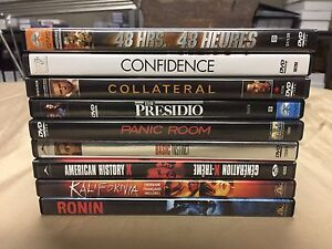 DVD - Lot of 9 Movies: $2 each / $15 For the Lot