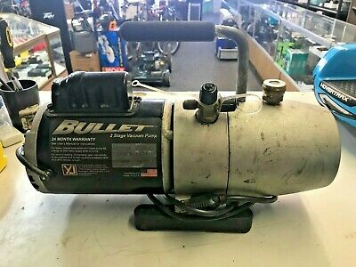 Yellow Jacket Bullet 93600 7 Cfm 115 Volt 60hz Single Phase Vacuum Pump