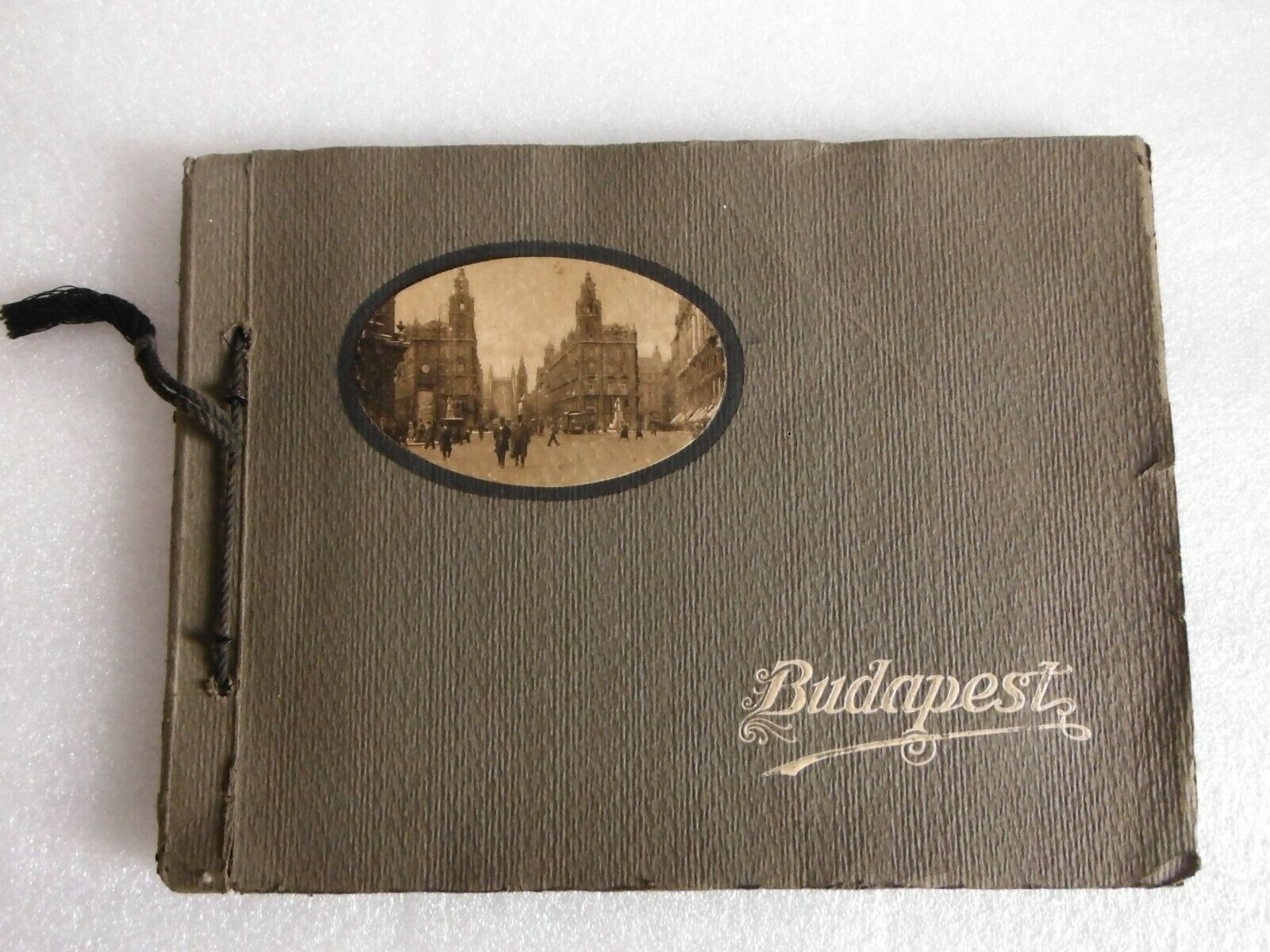 BUDAPEST in Ungarn um 1910 Fotomappe