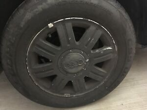 """15"""" wheels and 205/65R15 tires - Audi A4"""
