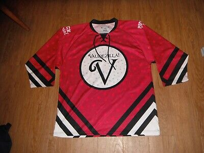 NEW Vaudezilla Puck & Gind  All Black Hockey Sticks JUST Hockey Jersey Men's XL! (All Black Hockey Stick)