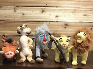 Complete Lion King stuffy collection