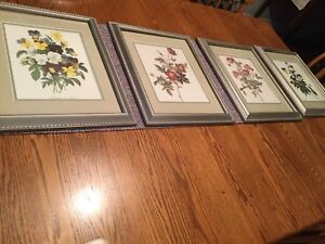 4 Botanical Prints