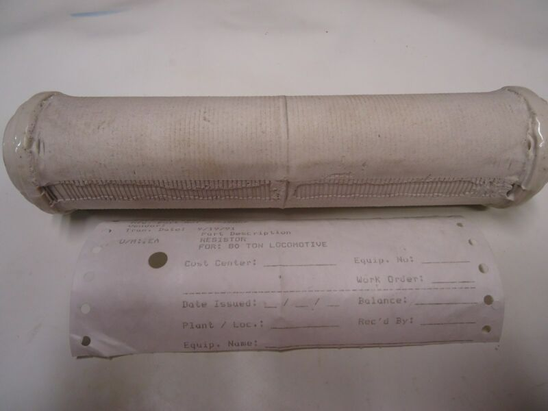 "GE 2793957 Ceramic Wire Wound Resistor for GE 80 Ton locomotive ""New"""
