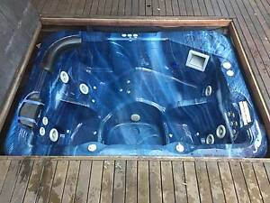 In-ground Spa Pool with heater Bulleen Manningham Area Preview