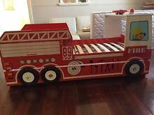 Fire engine bed with sounds, flashing light & trundle Cottesloe Cottesloe Area Preview