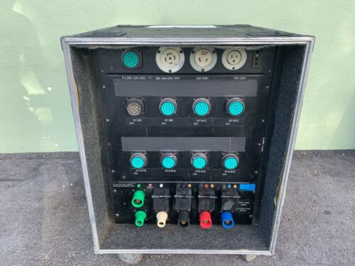 250A  3 PHASE SOCAPEX  POWER DISTRO  (ONE)