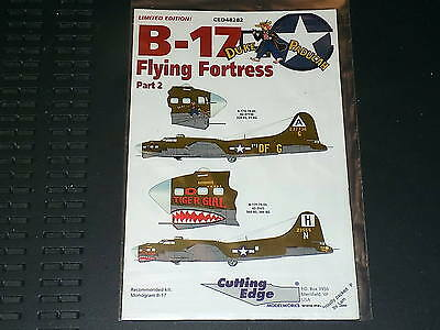 Cutting Edge Decals 48282 1/48 B-17 Flying Fortress Part 2