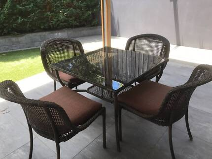 4 Seater Outdoor Setting