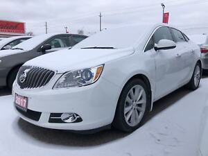 2017 Buick Verano Leather, Only 27112 Km's, Navi, One Owner Trad