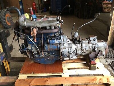 Landrover Series 2a Engine and Gearbox