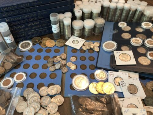 Best  *SALE* NICE U.S. COIN COLLECTION BULLION LOT VINTAGE GOLD 90% SILVER 75+ COINS!