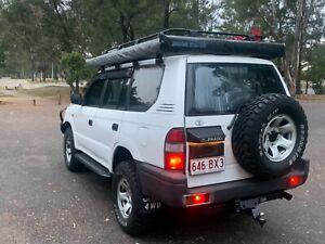 1996 Toyota Landcruiser Prado Rv6 (4x4) 5 Sp Manual 4x4 4d Wagon