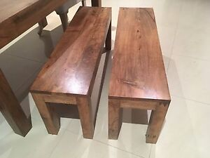 x2 Freedom Dining Benches Cremorne North Sydney Area Preview