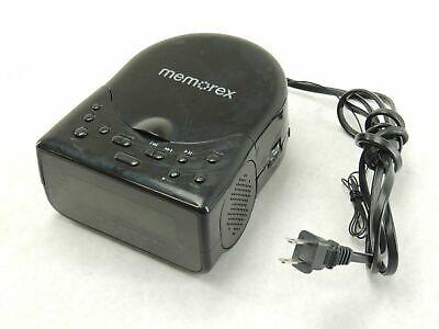 Memorex Model MC7223 Clock Radio AM/FM Tuner CD Player Dual Alarm