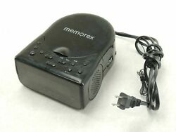 Memorex Model MC7223 Clock Radio AM/FM Tuner CD Player Dual Alarm