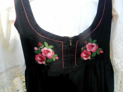 Vintage SALZBURGER TRACHTEN Dirndl Dress Embroidery OKTOBERFEST 2 piece
