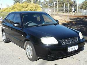 2007 HYUNDAI ACCENT AUTO LOW KMS $3999 *FREE 1 YEAR WARRANTY* Maddington Gosnells Area Preview