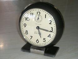 Vtg 40's Fabulous Westclox S4-D Wind Up Big Ben Alarm Clock Loud Alarm 2lbs!