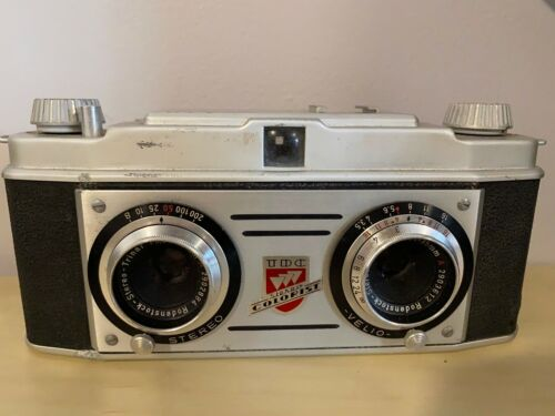 Old Vtg TDC Stereo Colorist Stereo Camera 35MM Bell & Howell Company