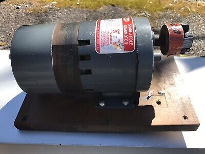 Dayton 110 Hp Shaded Pole Gear Motor Electric Motor 120 Volt
