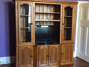 Wooden wall and TV unit North Perth Vincent Area Preview