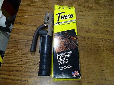 Genuine Tweco Welder 200 Amp Electrode Holder Model A-532