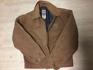 Carhartt jacket - tan, men's medium