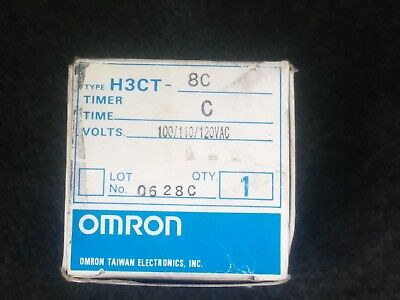 Omron H3ct-8c Timer Relay