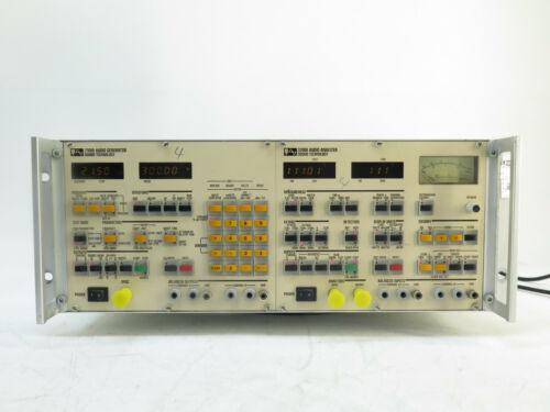 Sound Technology 3100B Audio Generator & 3200B Audio Analyzer 3000BR 101-AN1502