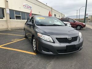 2010 TOYOTA  COROLLA. CE AIR CLIMATISE  3995 $